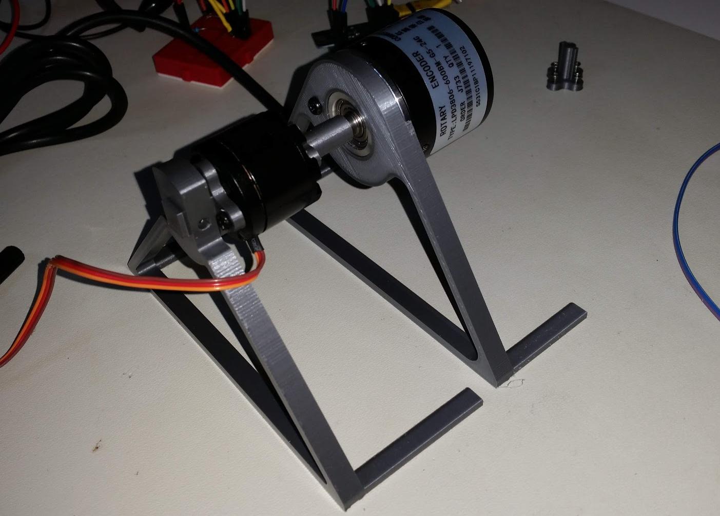 03a b l d c motor to encoder